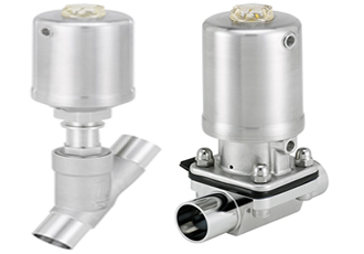 Networkable hygienic valve actuators