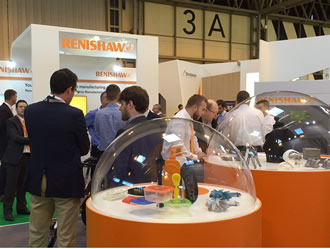 TCT Show + Personalize will hold Renishaw's vacuum casting expertise