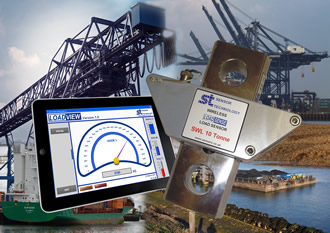 Reliable and safe mobile harbour equipment ensured by monitoring