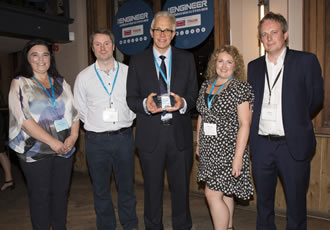Renishaw collaboration leads to health and wellbeing award