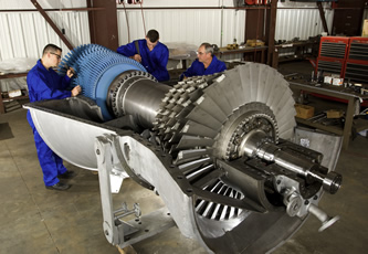 Improving performance through enhancing gas turbine components