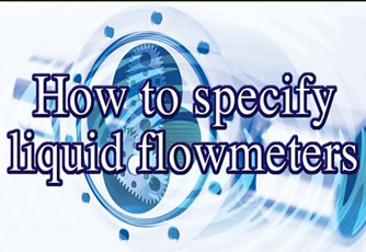 How to specify liquid flowmeters white paper