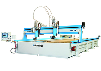Precision waterjet system cuts 3D parts