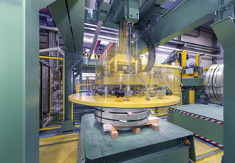 Direct drives provide energy savings in coil handling