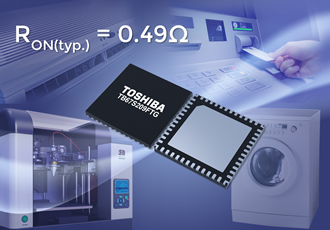 Stepping motor driver lowers noise and vibration