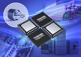 Three-phase brushless motor drivers function in confined spaces