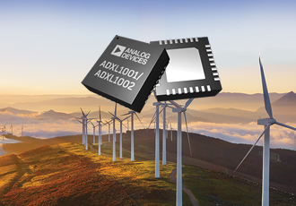 Low noise MEMS accelerometers target condition monitoring