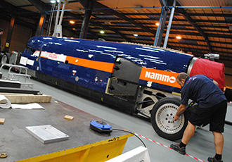 BLOODHOUND project edges towards the finishing line
