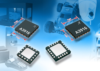 Low-voltage bipolar stepper requires only four external components