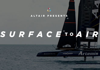 Designing foiling technology in a bid to win America's Cup