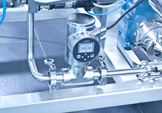 Minimising waste in hygienic control valve applications