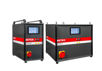 Medium frequency induction heaters enable safe and fast operation