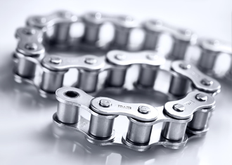Always dry - stainless steel chains