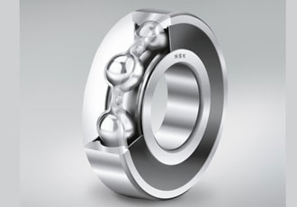 Low-friction ball bearings increase energy efficiency