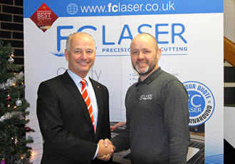 Meteoric rise leads to £2m order for laser cutting machines