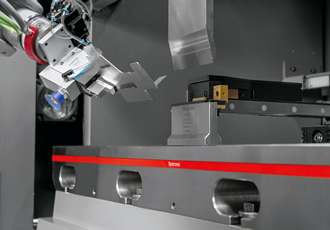 All focus on automation and press brakes