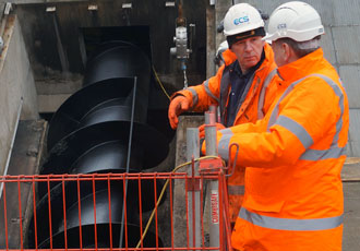 Archimedes screw pumps boost local water infrastructure