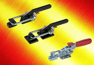 Latch clamps offer robust operation