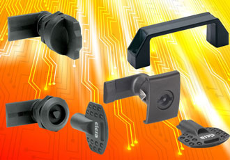 Certified quarter-turn latches offered in AE-VO series