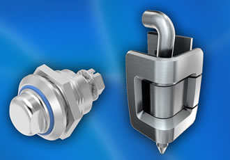 Stainless steel precision casting for EMKA enclosure hardware