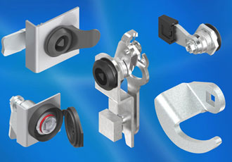 Getting closure with EMKA's range of industrial quarter-turn latches and locks