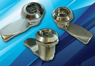 Insert key latches for specialist cabinets and enclosures