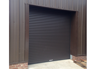 Insulated roller shutter doors stop noise and trap heat