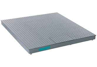 Floor scale family for hazardous areas offer weightless calibration
