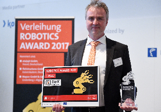 HANNOVER MESSE Robotics Award won by fleXstructures