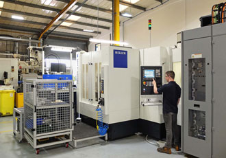 More machining centres for producing high precision valves