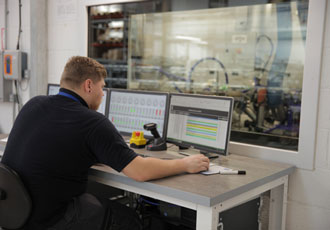 New end-of-line dynamometer system provides capability for engines