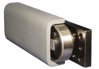 Combined bearings and profiles for lifting applications