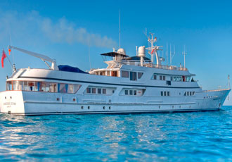 Classic luxury yacht refitted with intelligent inverter drives