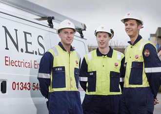 Sparking success with apprenticeship scheme