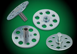 Fastening system enables use of self-clinching fasteners