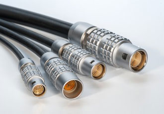 Multi concentric contact connectors designed for low speed rotation