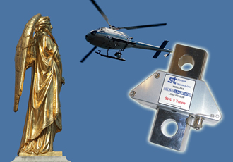 Raising an angel back to her glory with smart heli-hook