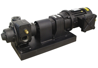 High-flow vane pumps for use in hazardous environments