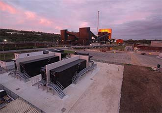 Biomass plant battery installation a first for the UK