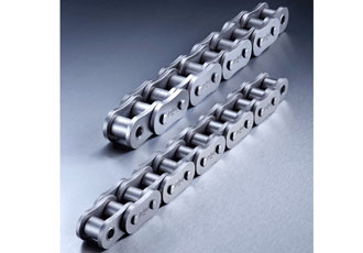 Series of roller chains designed for high fatigue strength