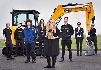 Investment in young talent creates 170 jobs at JCB