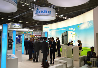 Delta brought industrial automation solutions to SPS IPC Drives Italia