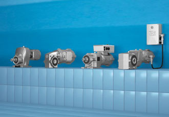 Highly efficient and hygienic smooth-surface motors