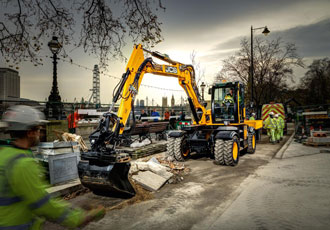 JCB shows robust results in shrinking market