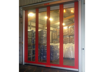 End to end security provided through high spec roller doors