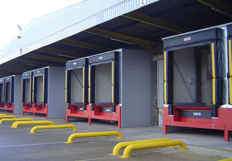 Design flexibilty and efficiency offered in loading bay pods