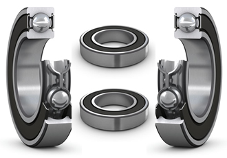 Deep groove ball bearings have high performance seal option