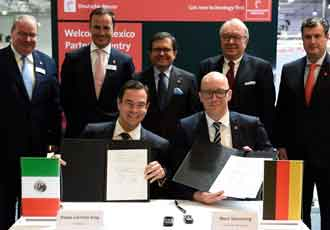 Mexico announced as HANNOVER MESSE Partner Country in 2018