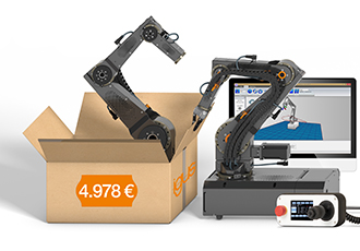 Robotic arm lowers price barrier for simple automation