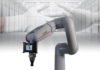 Mitsubishi Electric in the robot zone at Drives and Controls